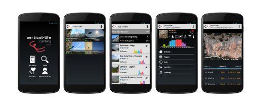Climbing App Guides von Vertical-Life - Fotocredit: Vertical-Life