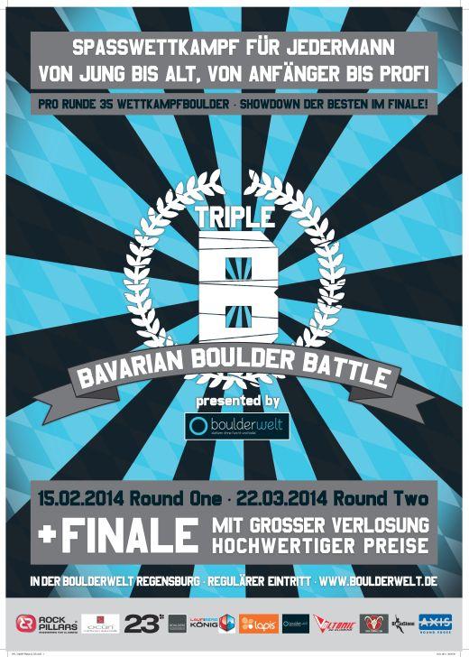 Neue Wettkampfserie in der Boulderwelt Regensburg - Fotocredit: Boulderwelt Regensburg