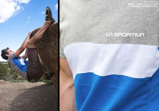 La Sportiva launcht erste Apparel Linie für Kletterer - Fotocredit: La Sportiva