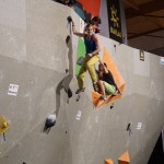 Deutschen Meisterschaft Bouldern des DAV auf der OutDoor 2014 010