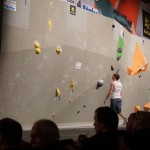 Deutschen Meisterschaft Bouldern des DAV auf der OutDoor 2014 043
