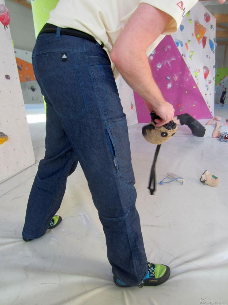 Adidas ED Denim Boulder Pant im Praxistest Bild 011